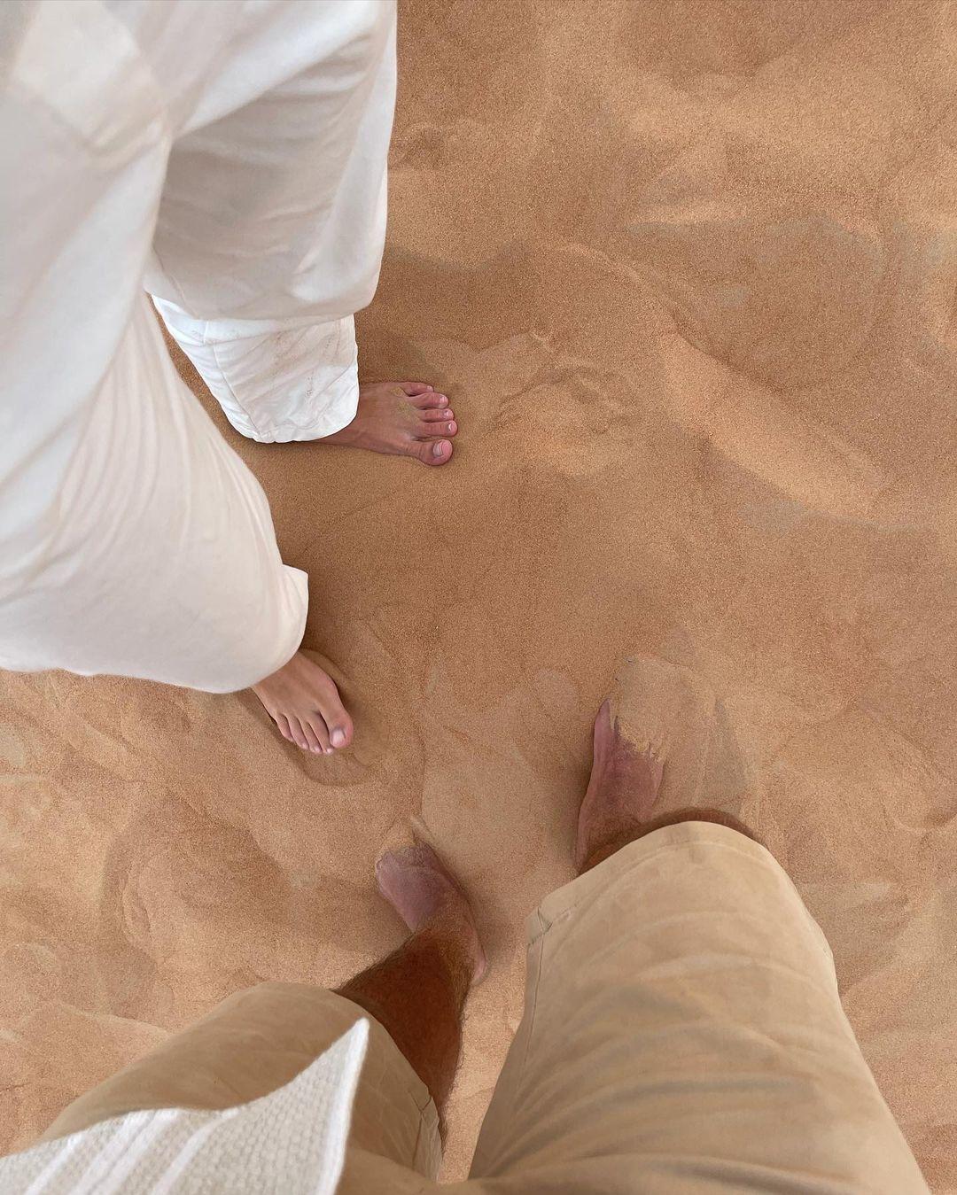 Kelly Bailey e Lourenço Ortigão no Dubai