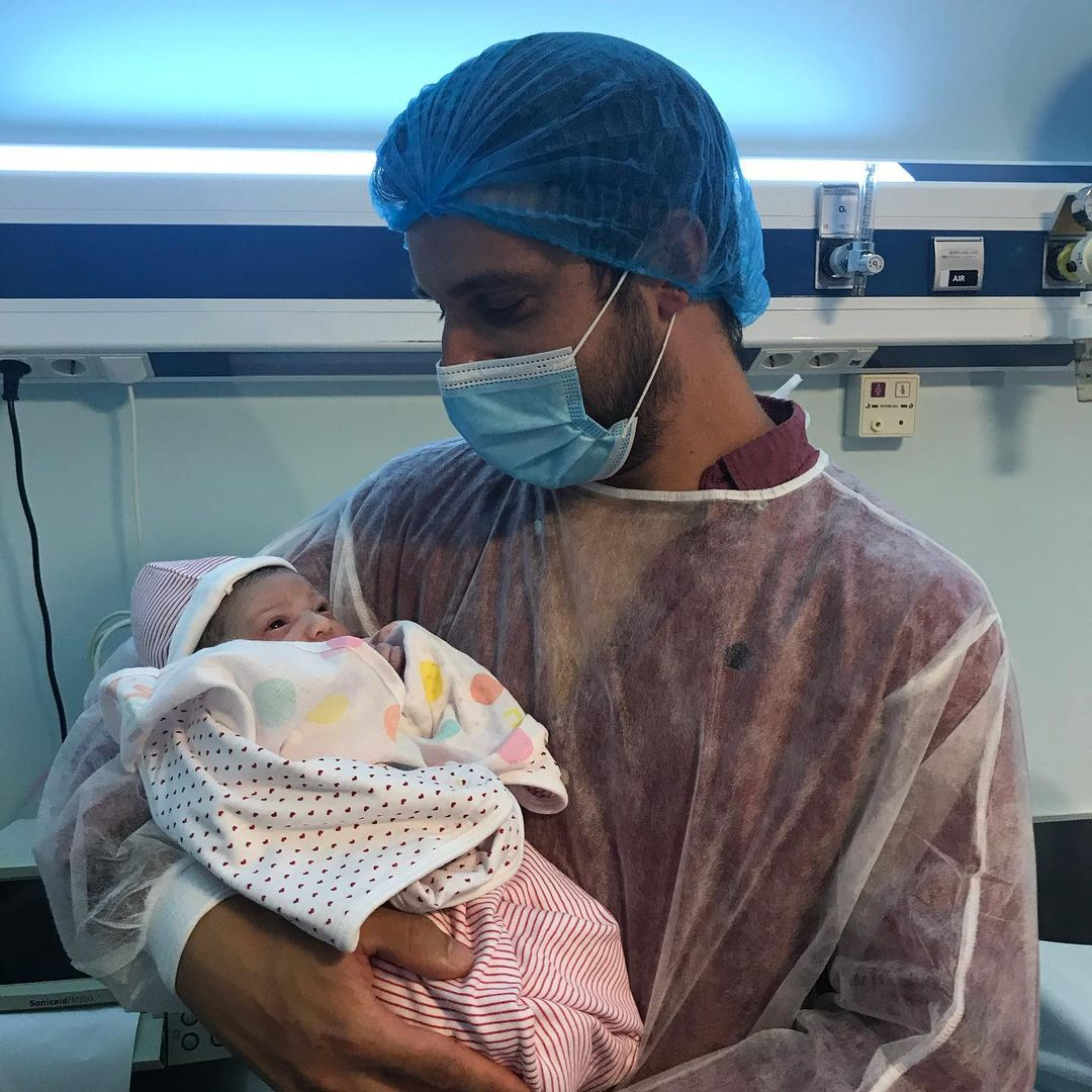 Luís Nascimento foi pai